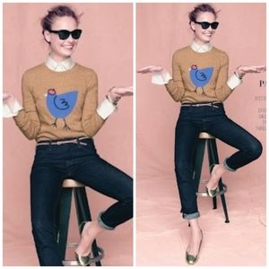 J.crew size XS french chicken sweater